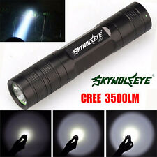 Mini 3500 Lumen 3 Modes CREE XML T6 LED 18650 Outdoor Torch Lamp Light Lamp
