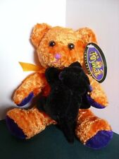 Joy Max Collection Halloween Bear with Black Cat