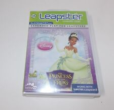 Leap Frog Leapster 2  Disney Princess and The Frog  Learning Game