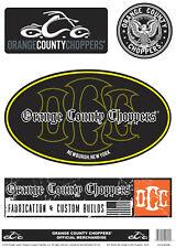 Orange County Choppers Sticker Set Mercadería Oficial B