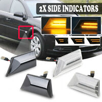 Dynamic LED Side Repeater Indicator Light Lamp For Opel Vauxhall Vectra C  HL