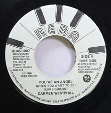 Rock Promo Nm! 45 Carmen Westphal - You'Re An Angel / Your Old Girlfriend On Reb