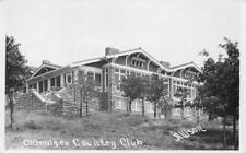 RPPC OKMULGEE COUNTRY CLUB Oklahoma 1920 Vintage Allison Photo Postcard