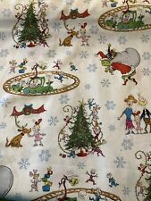 How the GRINCH Stole Christmas 100% COTTON Fabric by the Half Yard