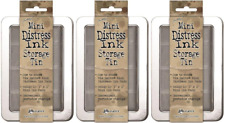 Tim Holtz Distress Tim Holtz Mini Distress Ink Storage Tins - (Pack of Tda42013