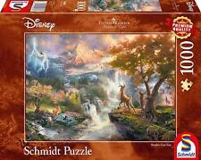 Bambi's First Year: Schmidt Disney Premium Thomas Kinkade Jigsaw Puzzle 1000 p'c