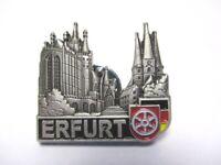 Erfurt Thüringen Pin Anstecker Metall Germany mit Druckverschluss
