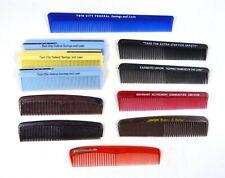 Lot of 11 Vintage Advertising Premium Hair Combs Bank Farmers Union Fuller Brush