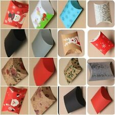 Christmas Pillow Pack Gift Present Box Packaging Wrapping Wrap Favour Various