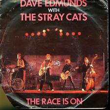 DAVE EDMUNDS THE STRAY CATS 45 TOURS HOLLANDE