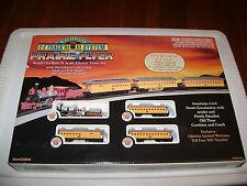 Bachmann N-Scale Prairie Flyer 4-4-0 Old West Union Pacific Set + BONUS TRACK