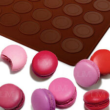 Silikon Macaron Backmatte Backform Matte Kuchenform Keksform Keks Form Matt