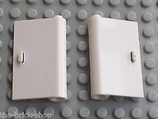 Portes LEGO city white doors ref 58380 58381 / Set 7848 7743 4999 & 10219