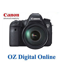 New Canon EOS 6D +24-70mm f2.8L II kits 20.2MP Full Frame DSLR Camera 1 Yr AuWty