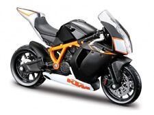 KTM 1190 RC8 R Escala 1:18 de Metal Modelo de la bici de Bburago