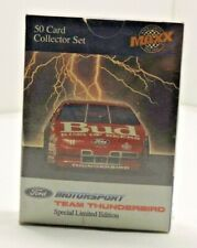 Sealed maxx collector set 50 cards Mint In Box Team Thunderbird ford 1992