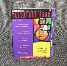 WATCH & LEARN THE GUITARIST'S TABLATURE BOOK