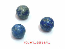 LAPIS LAZULI CRYSTAL ( 20 MM)  ROUGHLY CUT MINI BALL / SPHERE