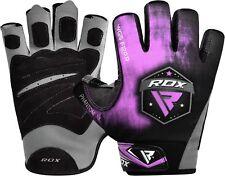 RDX Purple AMARA Weight Lifting Gloves Ladies Gym Fitness Training Straps Grips