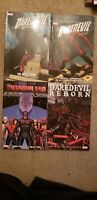 Marvel Daredevil Andy Diggle Lot Shadowland Reborn TPB and Hardcover