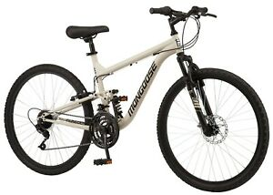 Mongoose Major 26 inch Mountain Bike - Sand