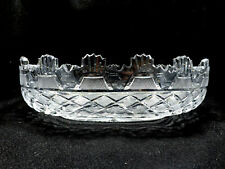 """Waterford Crystal Heritage Collection Kennedy Large Oval Centerpiece Bowl, 14"""""""