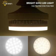 85-285V LED Lights GX53 5/7/9/15/18W Bulb 180° Bright Ceiling Energy Saving Lamp