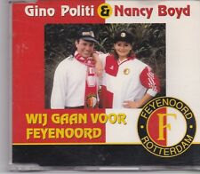 Gino Poltiti&Nancy Boyd-Wij Gaan Voor Feyenoord cd maxi single