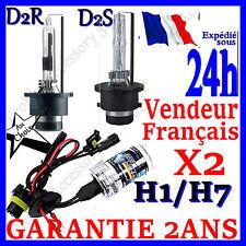 PAIRE 2 AMPOULE LAMPE FEUX REMPLACEMENT POUR KIT XENON HID H1 H7 D2S D2R 35W 55W
