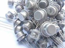 MP38 Qty10 NPN Rus Ge Tr 15V (HFE=35...75 Vintage NOS 2N1304