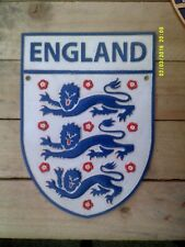 ENGLAND FOOTBALL Heavy Cast Metal Sign....A FANTASTIC GIFT - world Cup