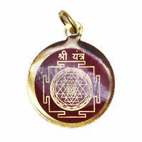 Shri Yantra Laxmi Saraswati Kavach Pendant Yantram knowledge Wealth & Prosperity