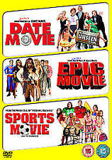 Date Movie/ Epic Movie/ Sports Movie (DVD, 2009, 3-Disc Set)