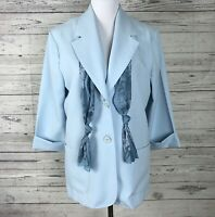 "$124.00 Nikki by Nikki Poulos /""Victoria/"" Faux Fur Jacket 432043J CLEARANCE $55"