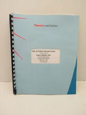 Thermo Laser Science Vsl 337nd S Nitrogen Laser Manual Guide