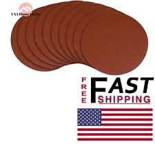 POWERTEC Aluminum Oxide Sanding Disc Self Stick Adhesive Weight Paper PSA 60Grit