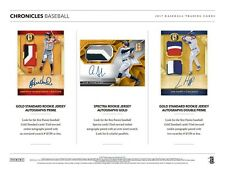 CLEVELAND INDIANS 2017 PANINI CHRONICLES BASEBALL 4 BOX BREAK #4