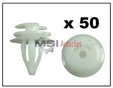 50 x BMW Interior Trim Clip / Fastener for Trim Panel, Door Card & Boot Lining