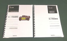 "ICOM IC-706MKII Service & Instruction Manuals: w/ 11""X34"" Foldout Schematics!"