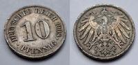 Deutsches Reich - Kaiserreich - 10 Pfennig - 1908 A (5)