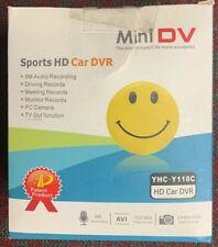 Camera Smile Face Badge Camera Hidden Video Recorder Mini DV HD Spy Cam