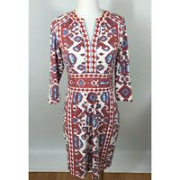 J. McLaughlin Dress Womens XS with 3/4 Sleeves Nylon Blend
