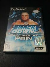 WWE SmackDown Here Comes the Pain (Sony PlayStation 2, 2003)