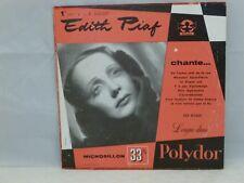 Edith Piaf – Recital Nº 1       Label Polydor – LP 530.017