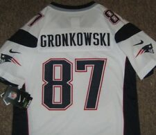 ROB GRONKOWSKI #87 NEW ENGLAND PATRIOTS YOUTH JERSEY L LARGE 14-16 NIKE NFL NWT