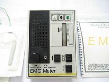 Modello EMG-2 portatile EMG Misuratore MONITOR COMPATTO impedenza uditiva visiva EEG UK