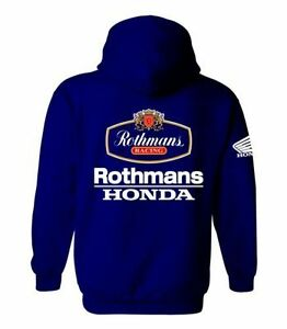 Rothmans Honda Motor Bike Inspired Hoodie - VARIOUS SIZES (S - XXL)