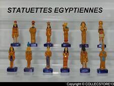 SERIE COMPLETE DE FEVES LES STATUETTES EGYPTIENNES -EGYPTE