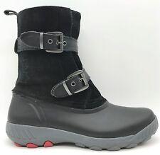 ba5554108 Couger Originals Black Suede Leather Waterproof Winter Boots Women s ...