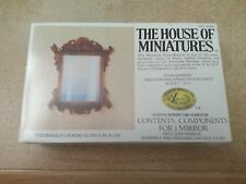 CHIPPENDALE LOOKING GLASS c. 1750 HOUSE OF MINIATURES DOLL HOUSE FURNITURE 42403